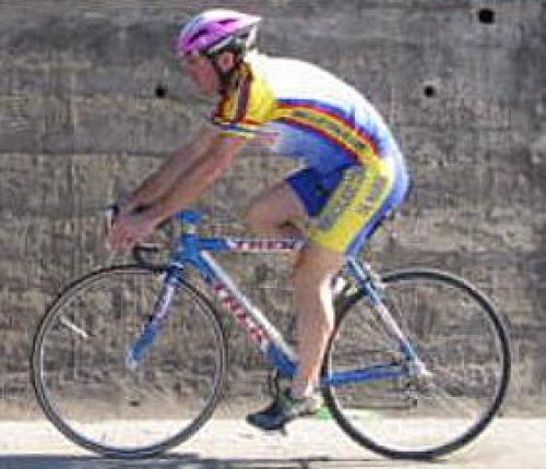 Mit dem Rennrad